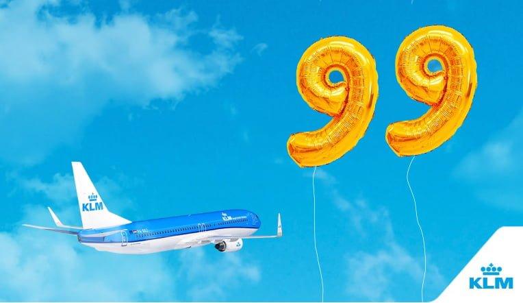 Resultado de imagen para KLM 99 years